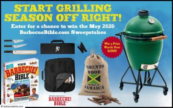 Barbecue Bible Sweepstakes