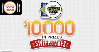 Easy Home Meals Sweepstakes