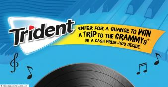 Trident Chew Tunes Sweepstakes Sweepstakes
