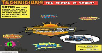 The Perfect Stop® Perfect Summer Powersports Giveaway Sweepstakes
