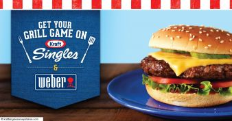 Kraft Singles Ultimate Grill Giveaway Sweepstakes