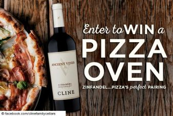Cline Cellars Pizza Sweepstakes